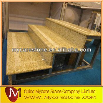 Golden Granite Stair Anti Slip Strip For Stairs
