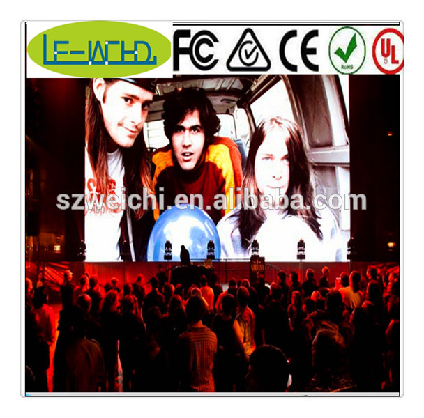 p8 outdoor dip full color led display led message centers indoor led display screen