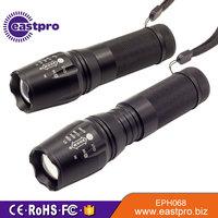 Great value 1200 Lumens XML T6 LED 5 Light Modes Adjustable Beam red led tactical flashlight