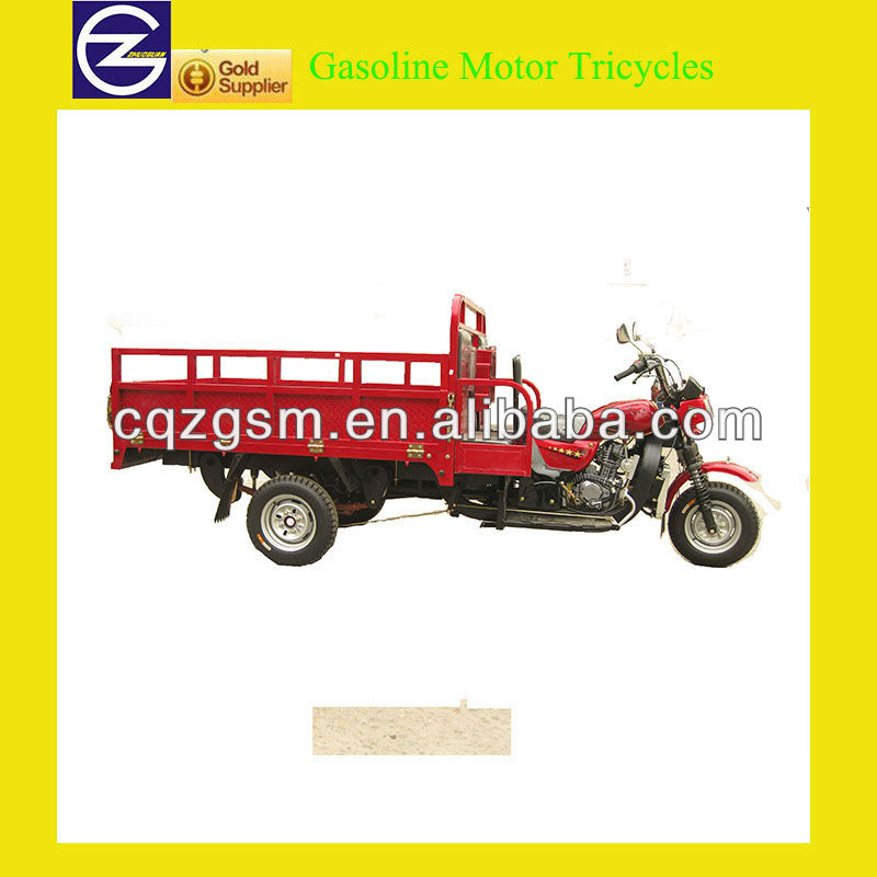 Heavy Loading Gasoline Motor Tricycles For Cargo