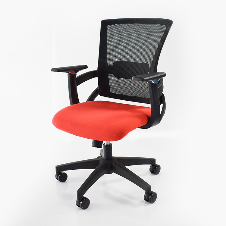 Hot selling!! low back office desk chair red mesh computer chair Y01