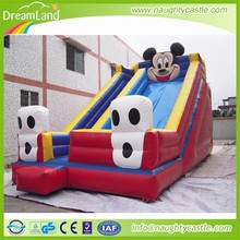 2015 Cartoon used commercial inflatable bouncer,mickey mouse inflatable bouncer slide,cheap inflatable bouncer for sale