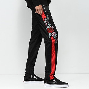 OEM Clothing Straight Fit Side Patchwork Track Pants