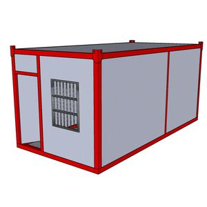 aluminium foil container making machine Prefabricated Modular Shelters