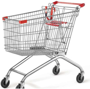 High Quality Supermarket Equipment Convenience Shipping Trolley And Cart