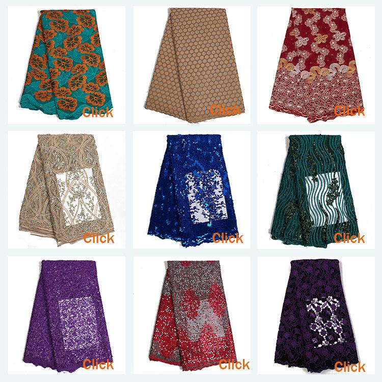 2020 القطن الدانتيل للنساء اللباس قماش الفوال الأفريقي السويسري النسيج عالية الجودة 5 متر لكل قطعة حار بيع XZ3255B