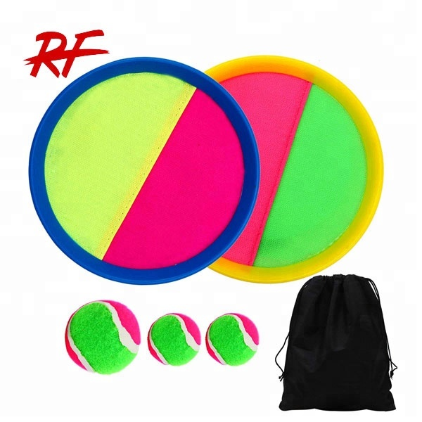 paddle catch ball,toss game set disc toss ,catch paddle game set
