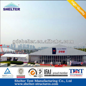 30x50m Roof canopies marquees for expo, SHELTER had Supplied for Canton Fair Biggest Expo in China, Over 50,000 square meters