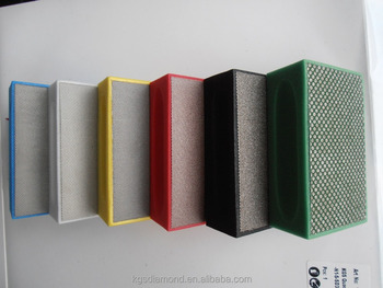 KGS Conventional Product Diamond Abrasive Sponge As Furniture For Indonesia