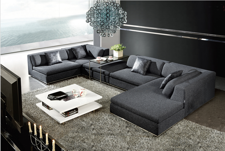 Best Selling Living Room Sofa Set Design And Price S View Sofa - Canape design en u