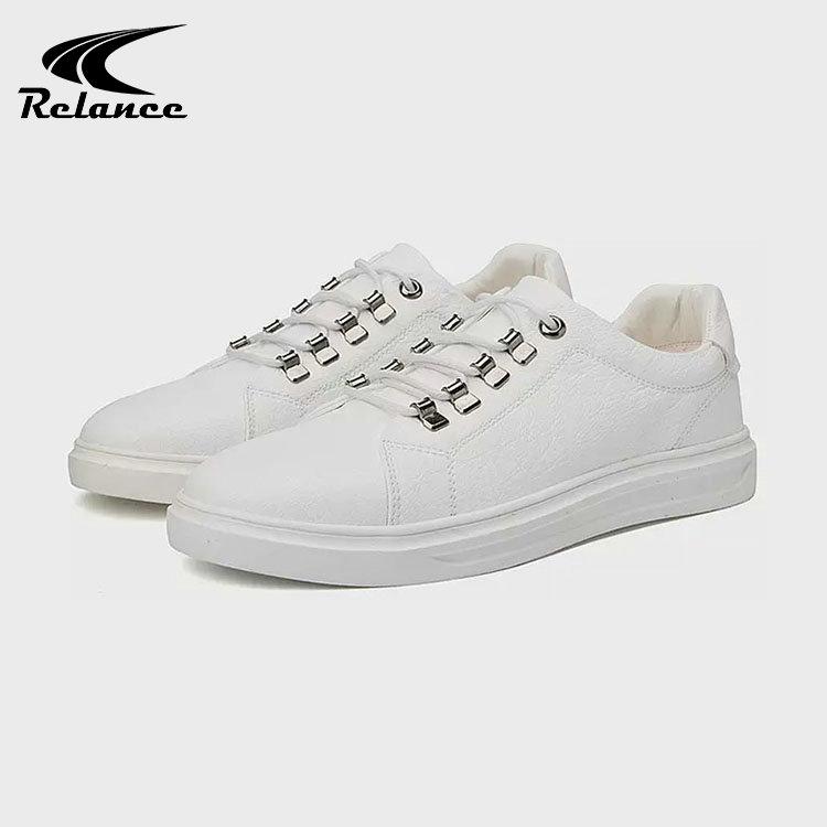 Sole Hacxwqa Pour Sport Plat Blanc Hommes Confortables Chaussures rFrda0nI