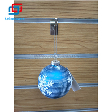 Popular Sale Christmas Ball with Snow Decorated