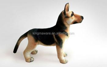 Realistic Plush German Shepherd Dog Toy Stuffed German Shepherd Dog