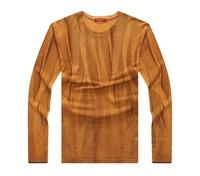 factory wool knitting pattern crew neck winter men sweater