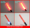 6pcs red leds length 31.5cm with strong magnet on bottom retractable baton