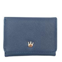 9708bf8134e4 Кошелек для женщин 2019 женские короткие женские кошельки Корона украшены  мини-Деньги Кошельки маленькие складные