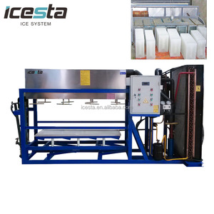 ICESTA 3T Commercial block ice making concrete cooling system