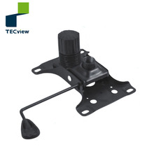 Pressure Tilted swivel locking safety function recliner chair mechanism parts for office chair with back adjustment
