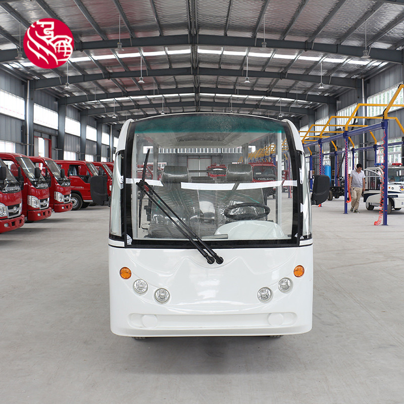 Low price high quality 48v 14seats electric sightseeing vehicle made in china