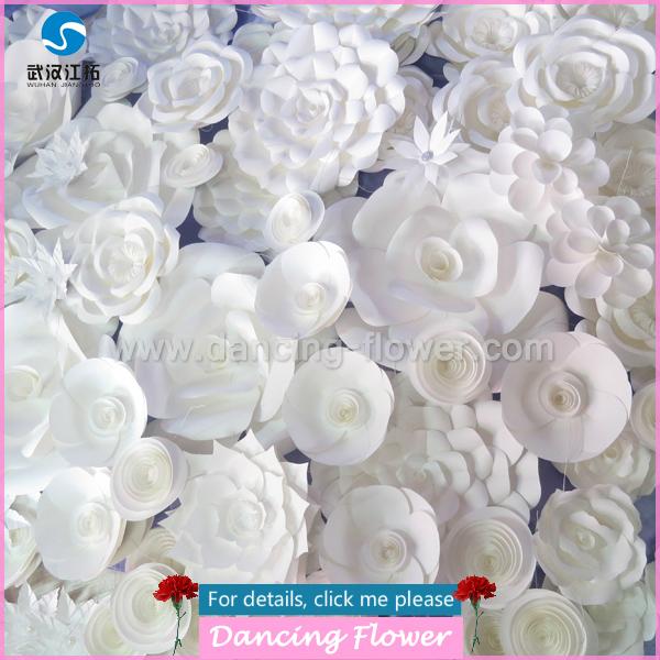 Handmade Paper Flowers For Wedding Decoration (wdah-46)