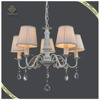 Factory Price Indoor Decor Fabric Chandeliers Pendant Lights, Russian Style Pendant Lamps