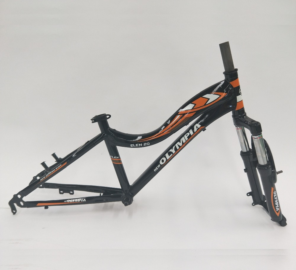 Olympia 20 Inch Mountain Bike Frame And Front Fork - Buy Bike Frame ...