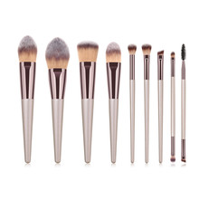 2019 Premium Nylon Hair Make up Brush Set Professionele <span class=keywords><strong>Make-Up</strong></span> <span class=keywords><strong>Kwasten</strong></span> <span class=keywords><strong>Private</strong></span> <span class=keywords><strong>Label</strong></span>