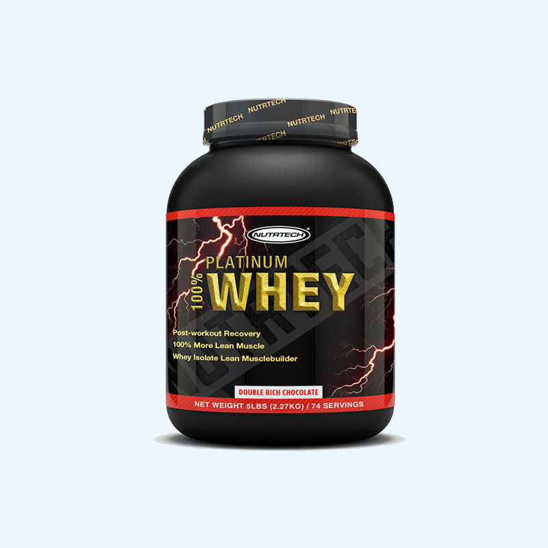 Wholesale Plastic Bottle for Whey Protein Powder Supplements