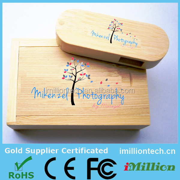 Photography USB Packaging, USB Photography Packaging,Engraved Wooden USB Gift Box