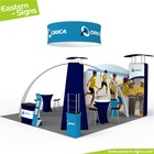 China wholesale aluminum advertising environmental foldable exhibition booth stage