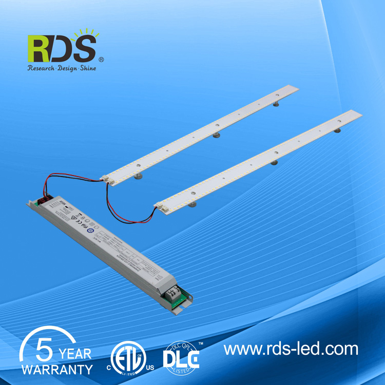 2017 New design lighting dimmable 2835 LM80 50W 2 x 4 led retrofit