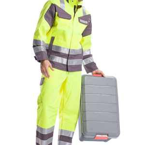 OEM unisex Anti-static Uniform one piece work wear fire-fighting protection safty work set coverall clothes high Quality
