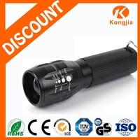 Aluminum Zoomable Torchlight Mini Powerful Led Torch Light Led Flashlight Hitone