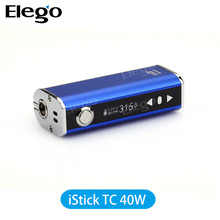 NEW Genuine vape box mod eleaf istick 40watt TC Elego wholesale preorder