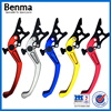 Colorful CNC double disc motorcyc/scooter clutch brake lever