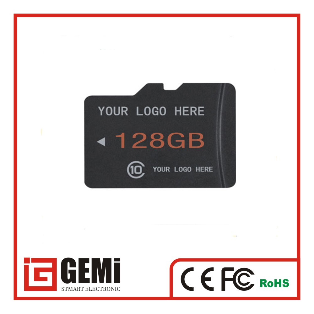 High Quality mobile memory card with Blister or Bulk Package Brand SD Card 32GB 64GB 128GB 256GB High Speed