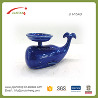 Gifts & Crafts wholesale porcelain decorative dolphin funny moroccan candle holder, resin tealight candle holders