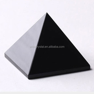 Quartz positive energy healing obsidian crystal pyramid Wholesale chakra