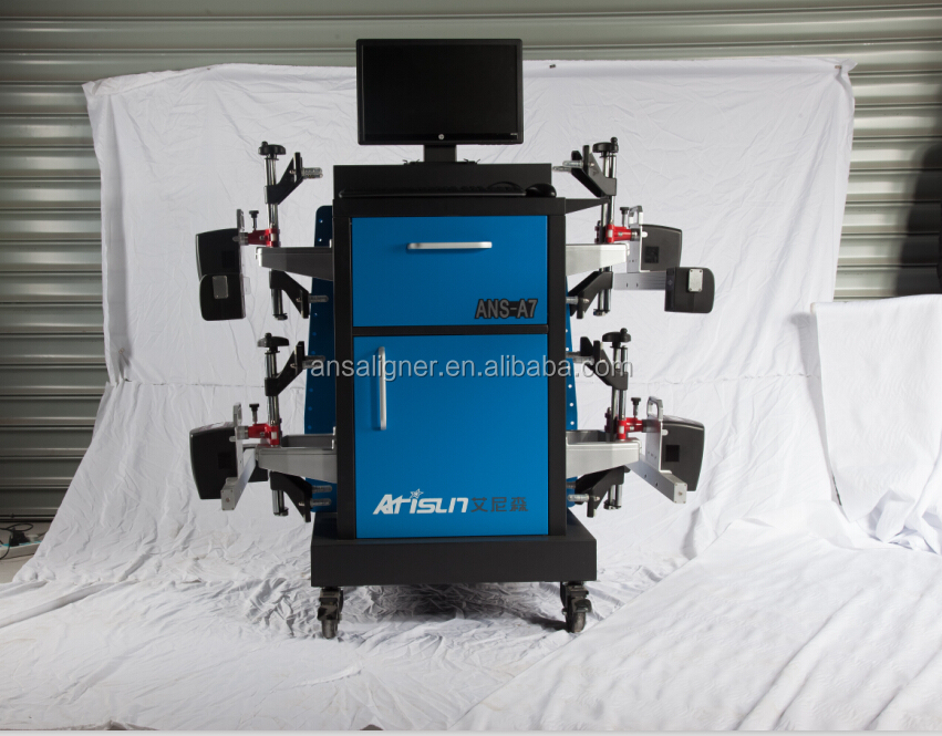 Used wheel alignment machine with auto repair software ,zigbee, CCD auto diagnostic tool
