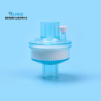 Disposable Medical Anesthesia Breathing System Bacterial Filter