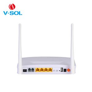 4 GE 2 FXS wireless 802 11ac GPON ONT AC Wifi