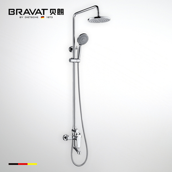 Bathroom Rain Contemporary Shower Set Thermostatic Faucets F6111147c ...