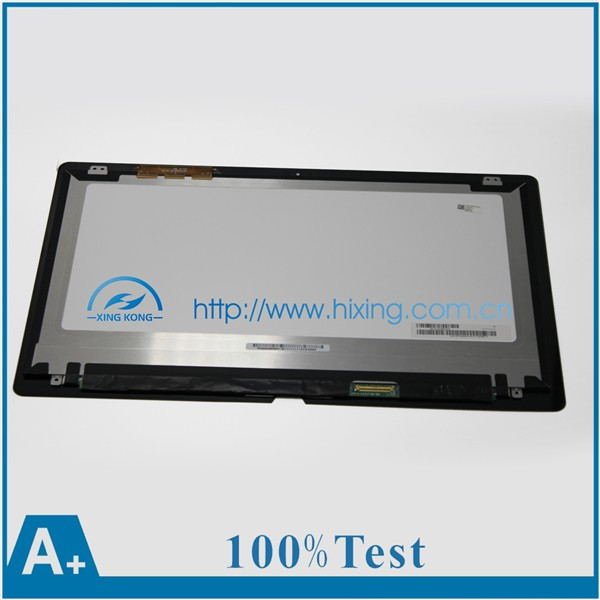 "New 15.5"" LCD Touch Screen Digitizer Assembly VVX16T020G00 For Sony Vaio Fit SVF15N1C5E SVF15N1B4E SVF15N17CXB 2880*1620"