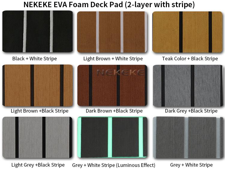 marine eva foam deck pad Sheet boat yacht teak decking Flooring