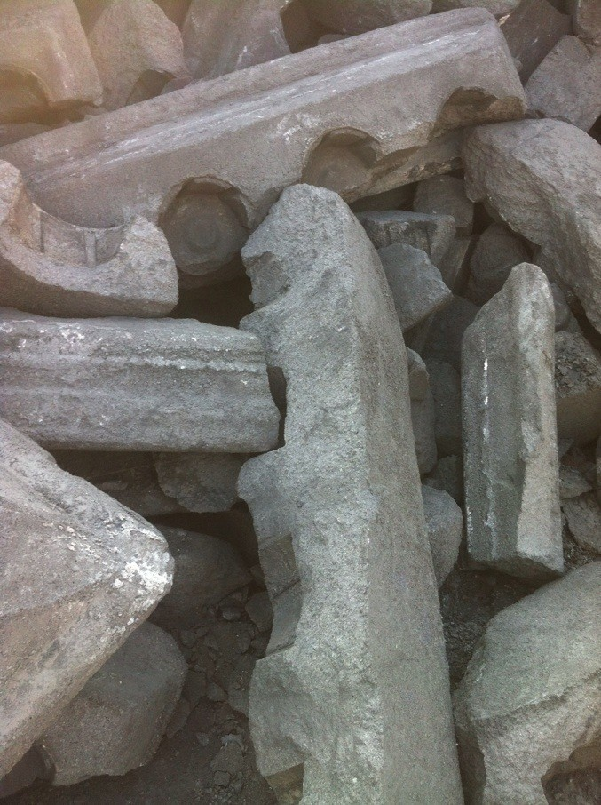 Fc98%min Carbon Anode Butt/ Carbon Anode Scrap For Copper Smelter ...