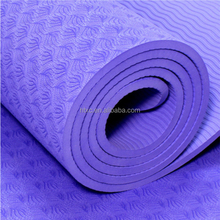 Wholesale Custom Printed Round TPE Yoga Mat