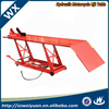 Top Sale Factory Direct Sale Air Hydraulic Motorcycle lift, China motorcycle lift WX-9303