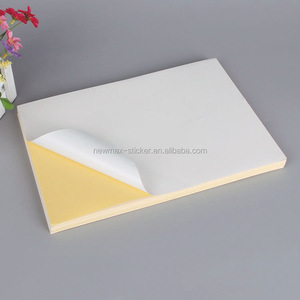Low Price Custom Printing Self Adhesive Sticker Paper A4 Label