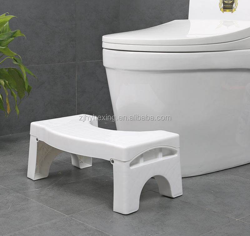 foldable toilet stool footstool