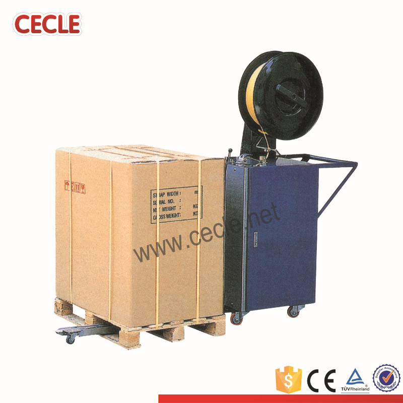 pallet strapping band machine